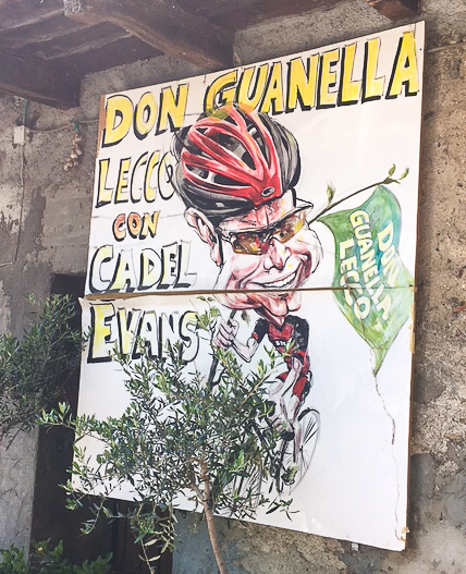 Cadel Evans is a huge supporter of Don Agostino & Casa Don Guanella.
