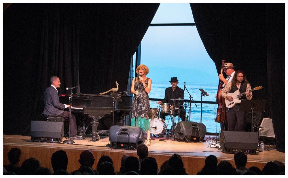 Valhalla Music Festival overlooking Lake Tahoe 2018
