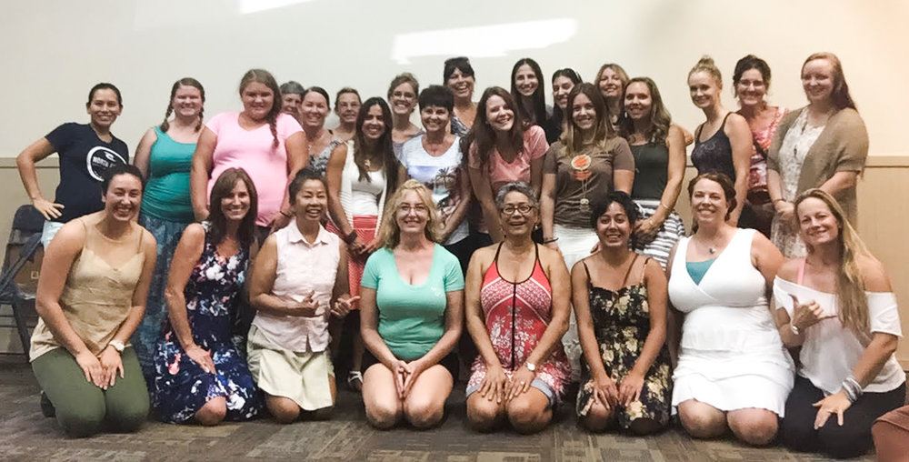 The 2016 Woman to Woman Mentoring crew