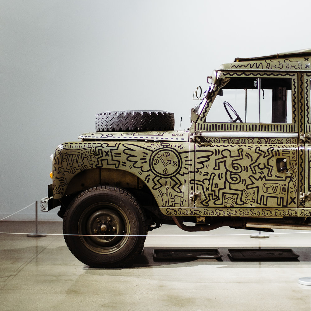 land rover series 3 petersen keith haring 001