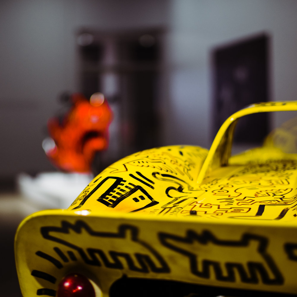 keith haring ferrari petersen