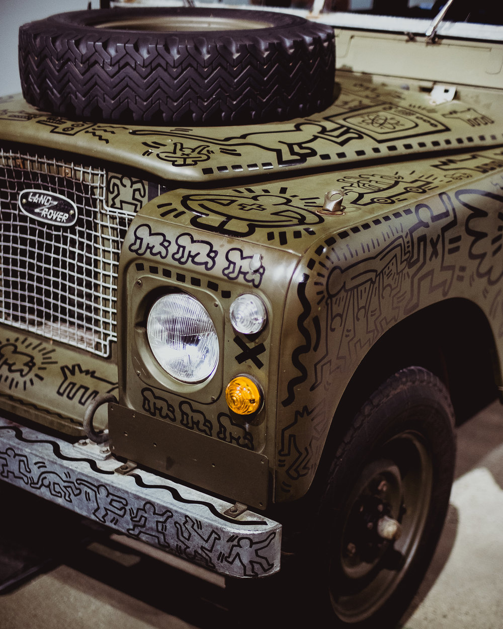 land rover series 3 petersen keith haring 003
