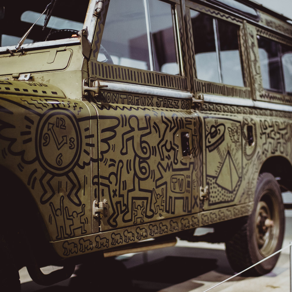 land rover series 3 petersen keith haring 004