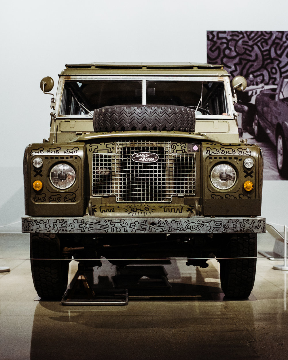 land rover series 3 petersen keith haring 002