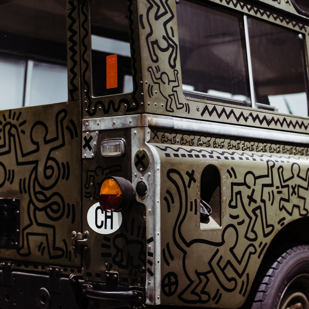 land rover series 3 petersen keith haring 005