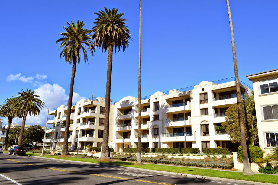 According to rental website Zumper, Santa Monica has the highest rents in the LA area  Shutterstock