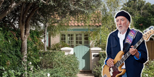 Bassist John McVie of Fleetwood Mac is selling his residence in Brentwood. (credit: Getty, Zillow)