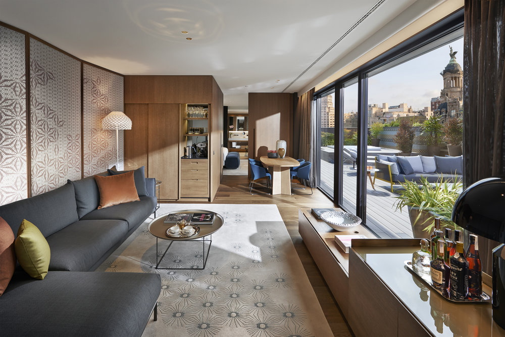 43.Mandarin Oriental, Barcelona - Barcelona Suite Living Room.JPG