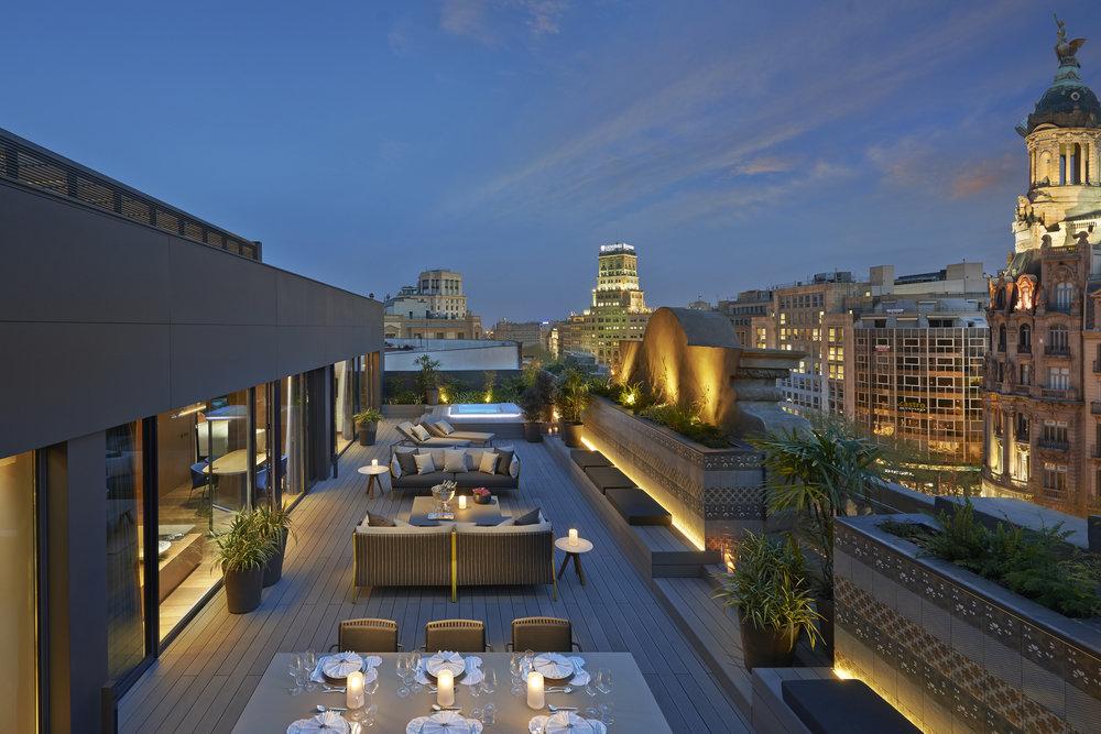 42.Mandarin Oriental, Barcelona - Barcelona Suite Outdoor Terrace.JPG