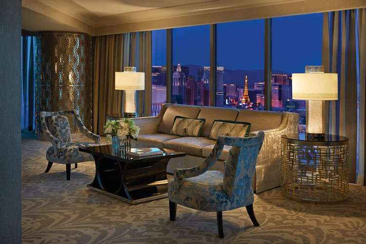 Book a Strip View Room for unparalleled views of the glittering Las Vegas Strip.