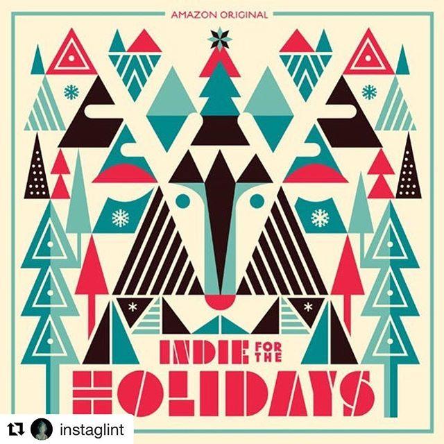 "Happy Holidays! ・・・ Recorded for @amazonmusic original playlist #IndieForTheHolidays, Glint covers ""Plastic Mistletoe"" http://amzn.to/2ijaTQH"