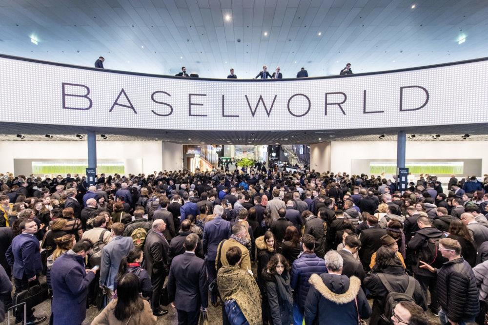 Hall entrada Feria BaselWorld