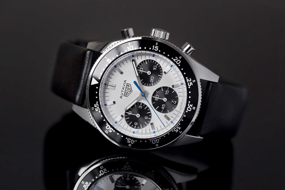 Heuer Autavia Jo Siffert, limited edition by Calibre11