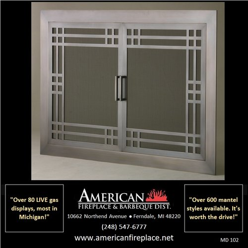 Mesh Door Screens American Fireplace Barbeque Dist