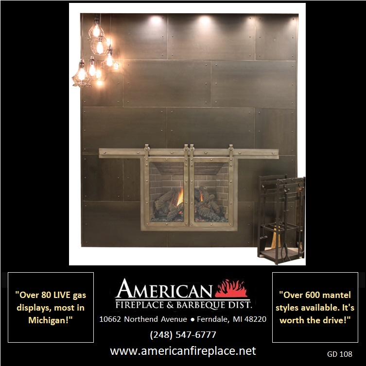 Glass Doors — American Fireplace & Barbeque Dist