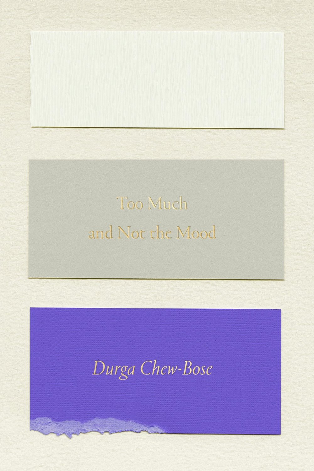 Durga Chew-Bose,  Too Much and Not the Mood