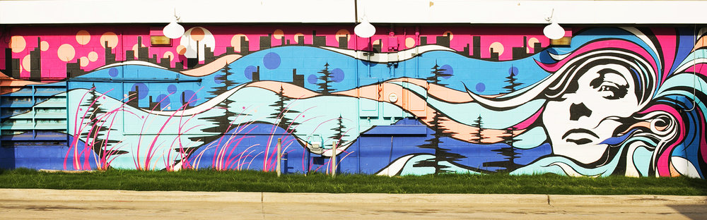 Mural by Eddie Phillips