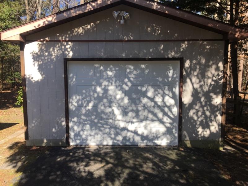 New shed door