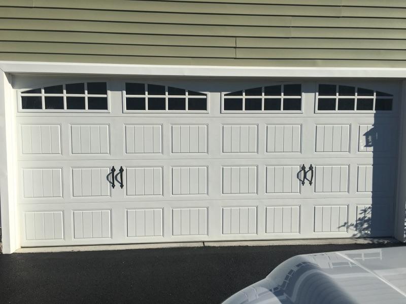 Carriage house double door