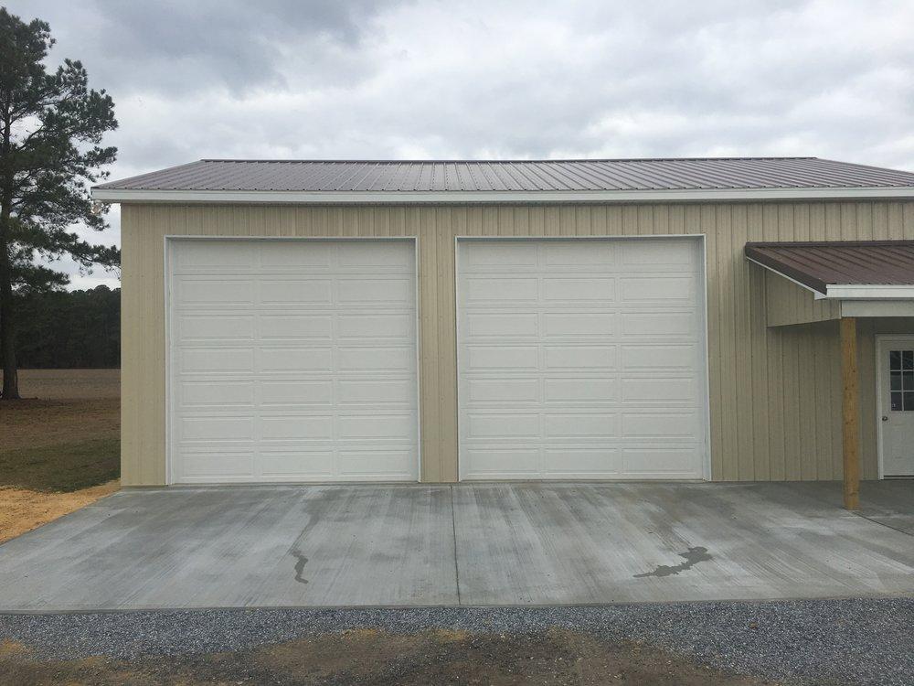 long panel commercial doors