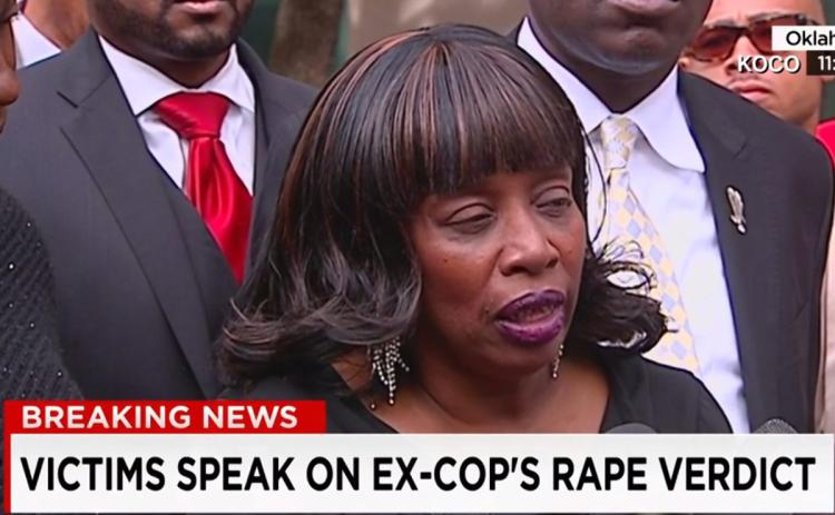 57 year old, Jannie Ligons. The first woman to speak out and report Officer Holtzclaw.