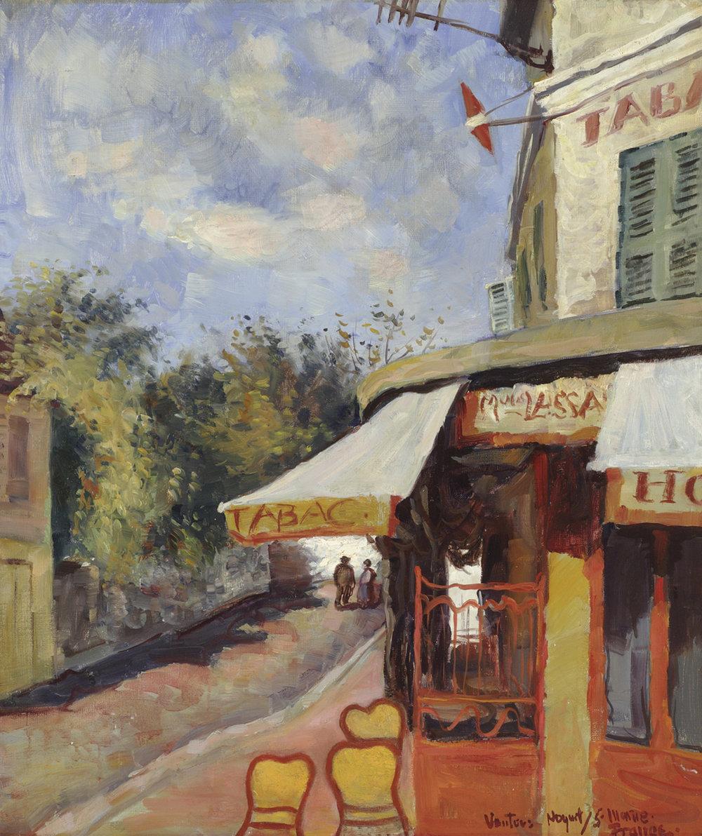 French Cafe Scene
