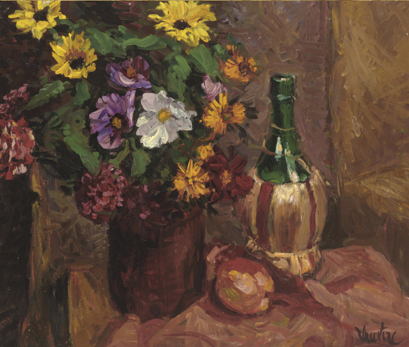 Chianti and Flowers