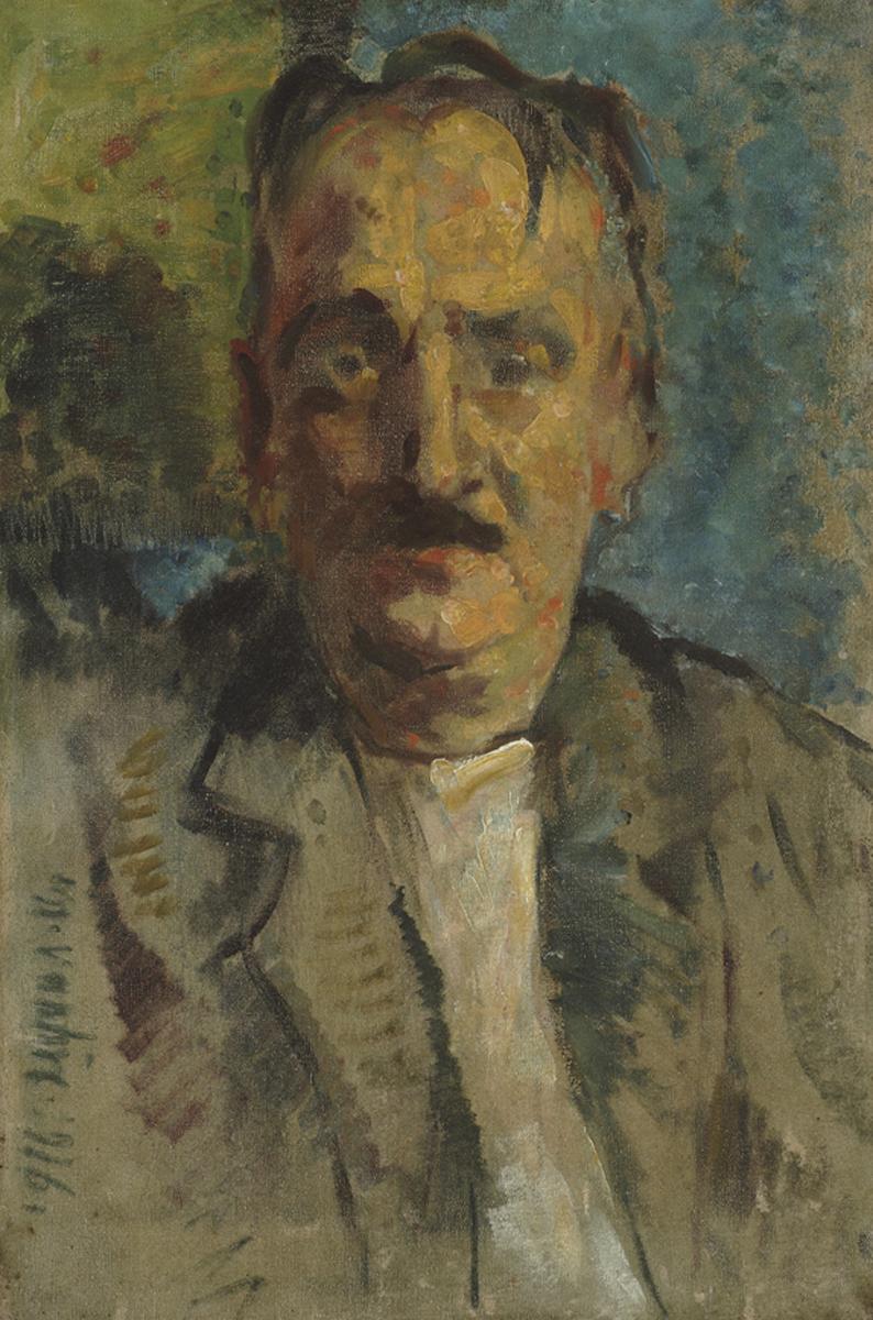 Portrait of Mogen's Brother 1916