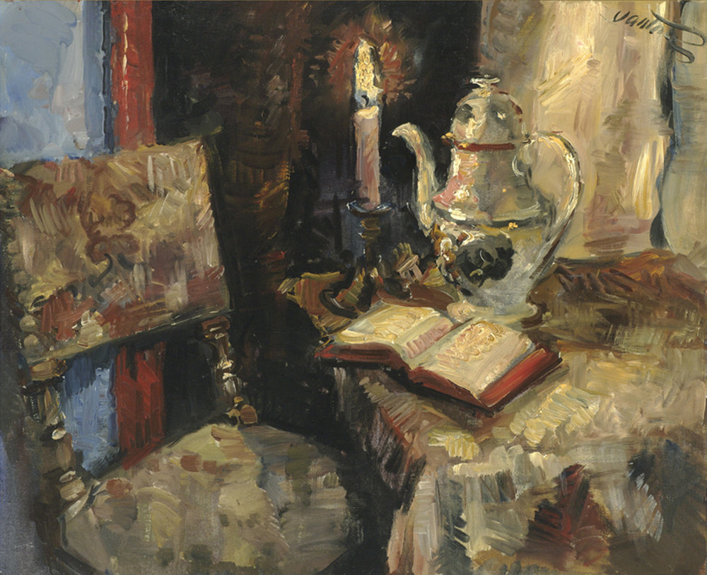 Candlelit Interior