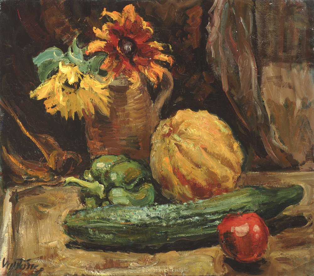 Daisies, Melons and Cucumber