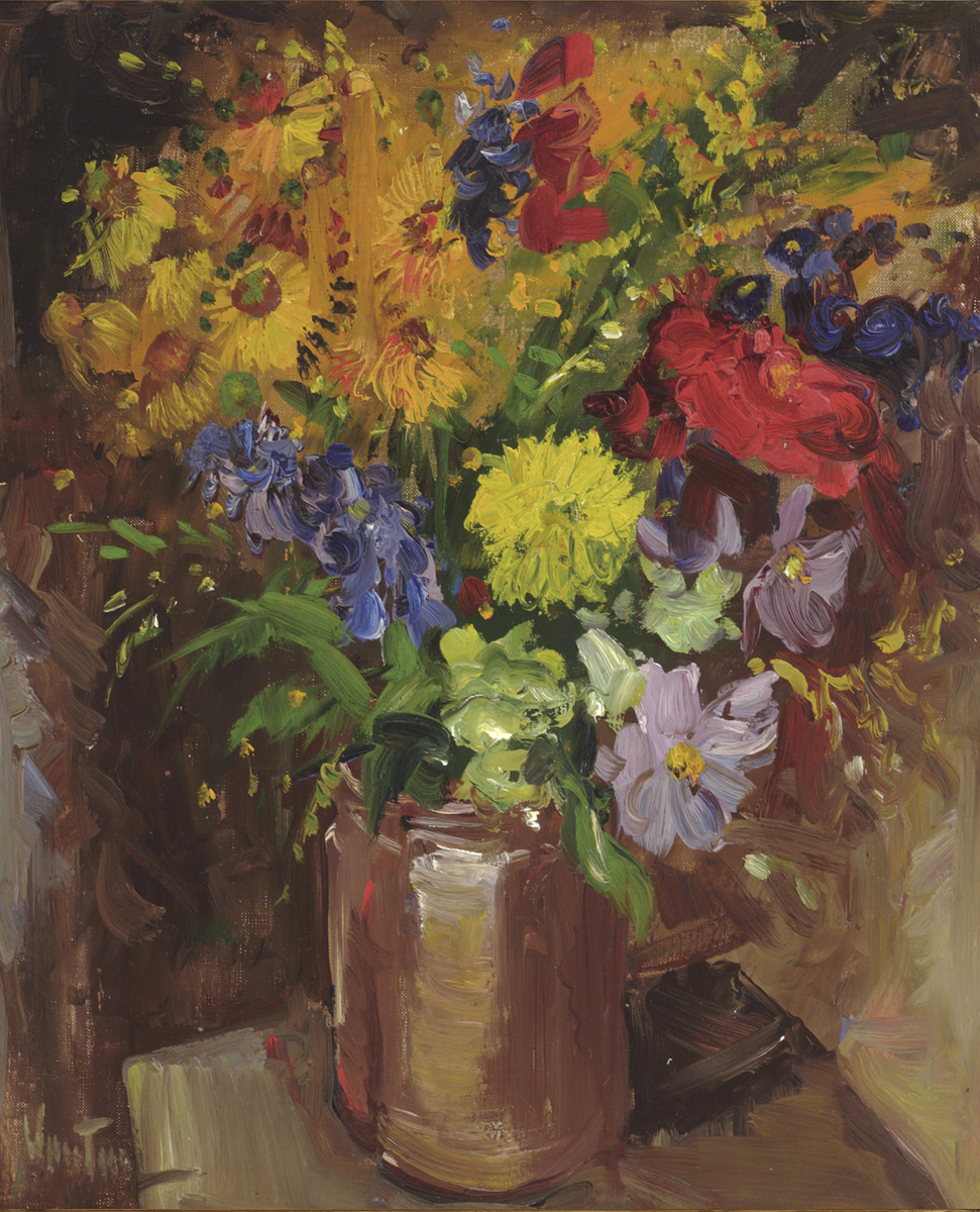 Summer Flowers in a Jug