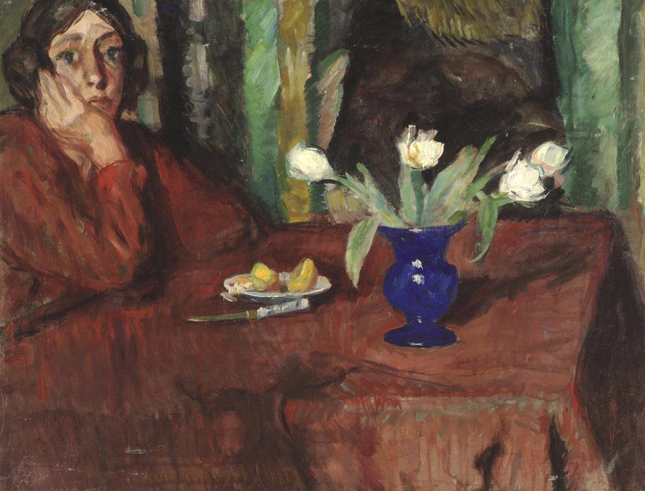 Nanna at the Table
