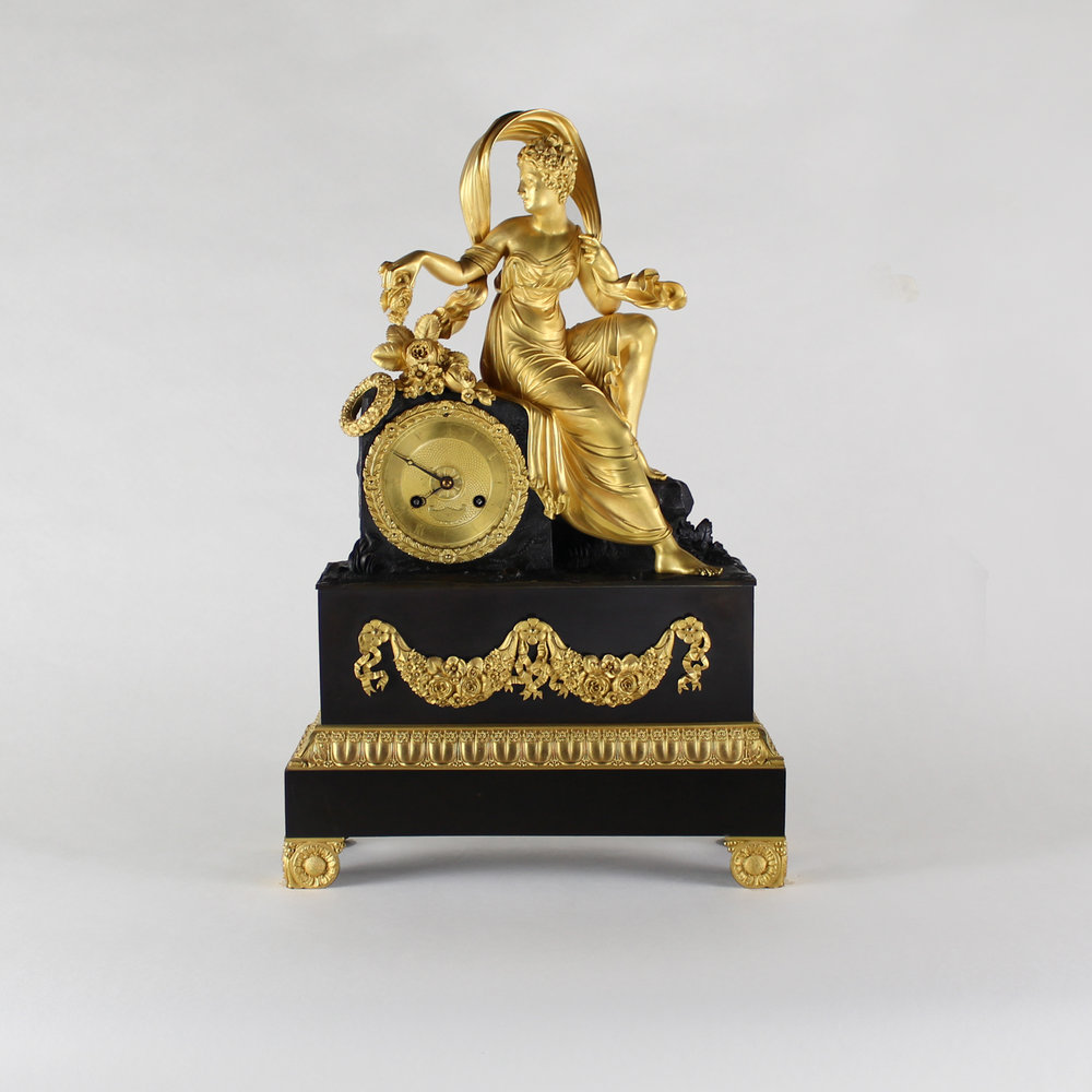 French Gilt Clock