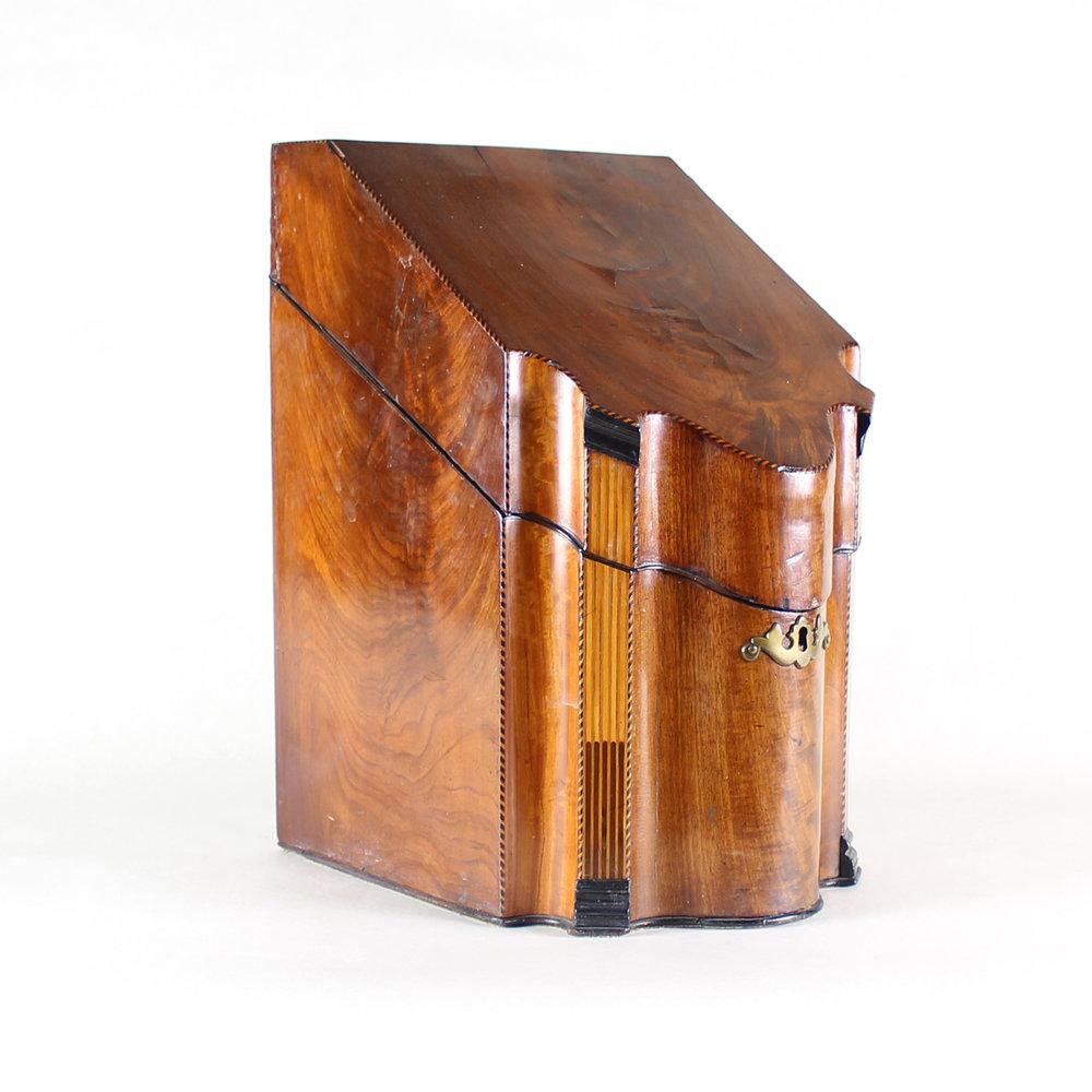 English Knife Box