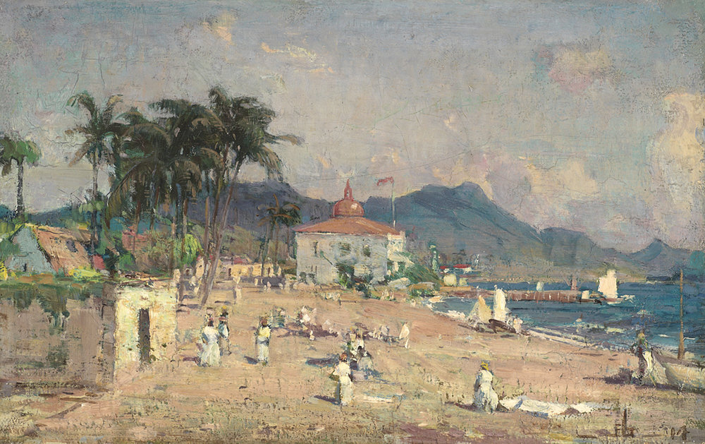 Peleg Franklin Brownell (Canadian 1857-1946) 'St. Kitts, British West Indies'