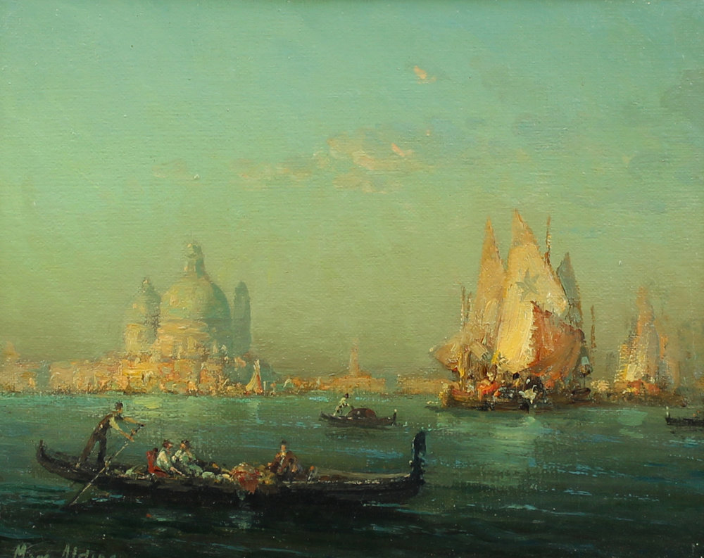 Auguste Bouvard/Marc Aldine (French 1882-1956) 'Venice'