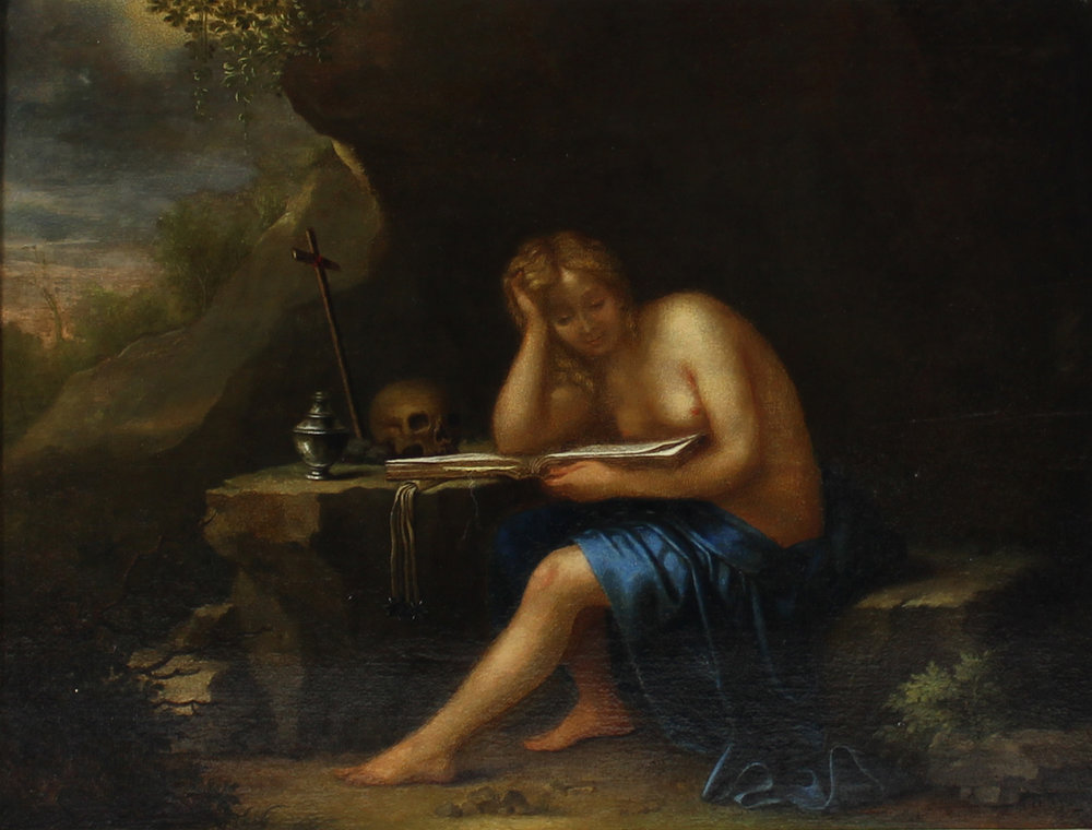 'The Penitent Magdalena'
