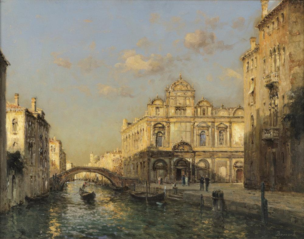 Auguste Bouvard/Marc Aldine (French 1882-1956) 'Scuola Grande Di San Marco'