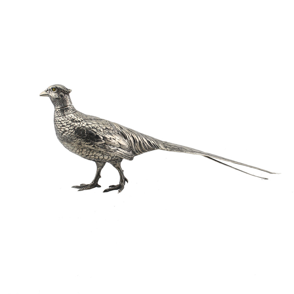 Silver Pheasant Model, German Early 20th Century