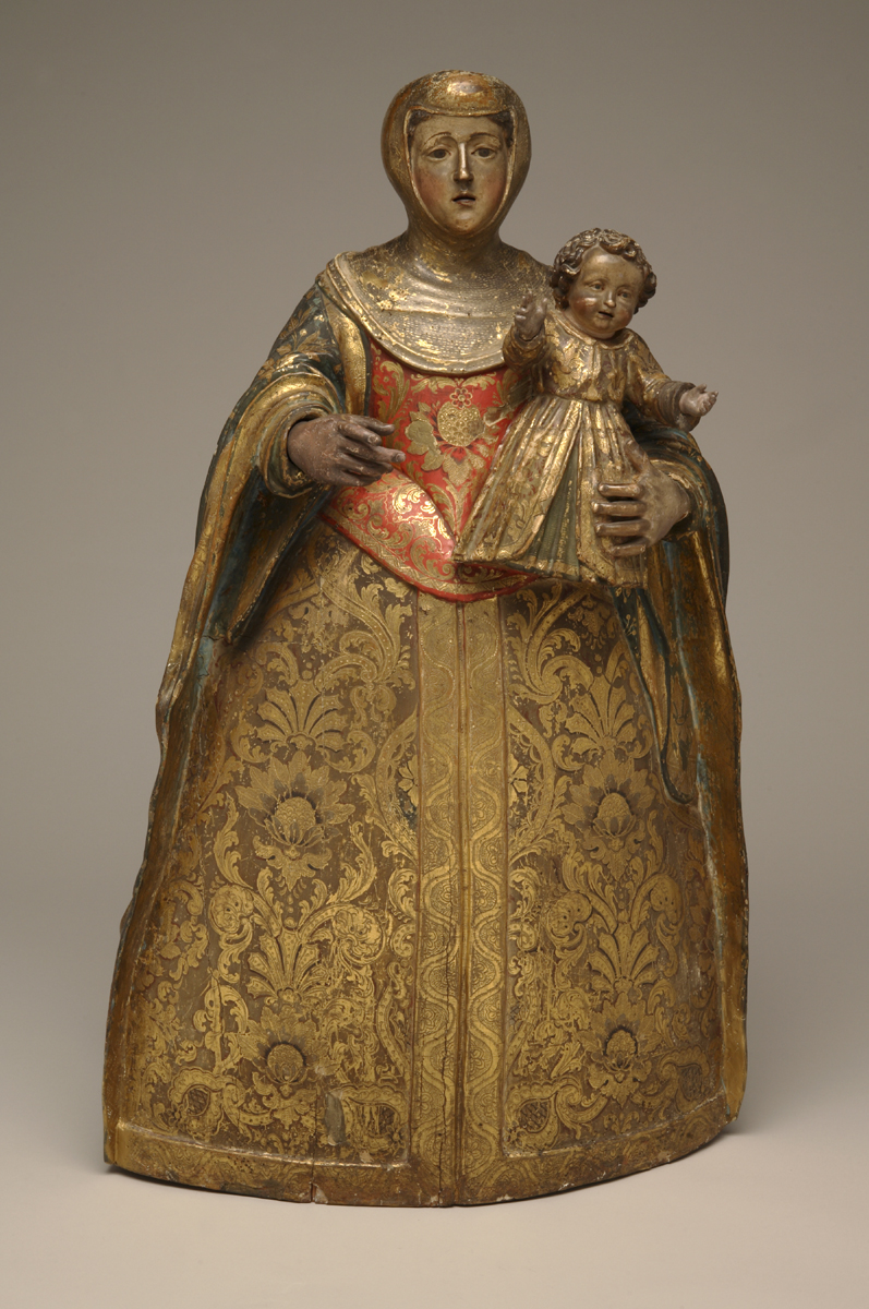 Noble Woman And Child
