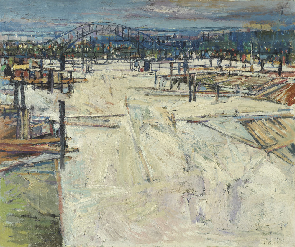 Gordon Appelbe Smith (Canadian 1919) River, New Westminster
