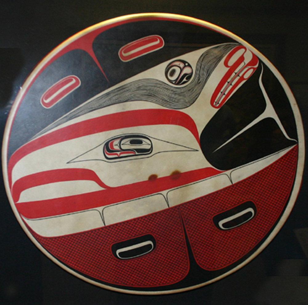 Robert Davidson (Haida/ Canadian b. 1946) 'South East Wind and Foam Woman'