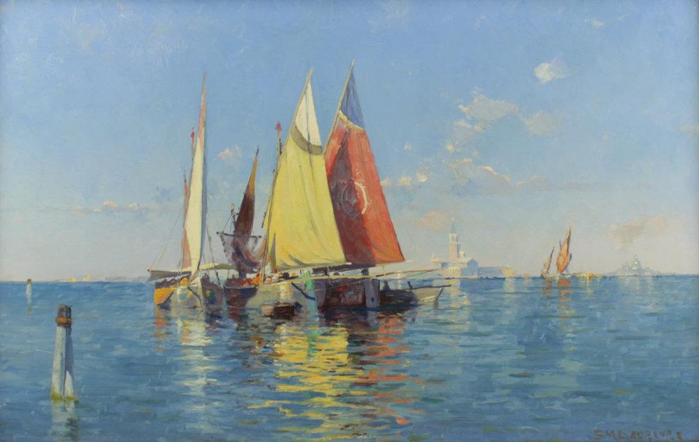 Sydney Mortimer Laurence (American 1865-1940) 'Venice'