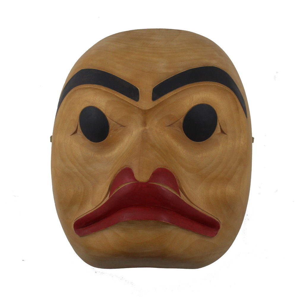 Norman Tait (Nisga'a born 1941) 'Portrait Mask'