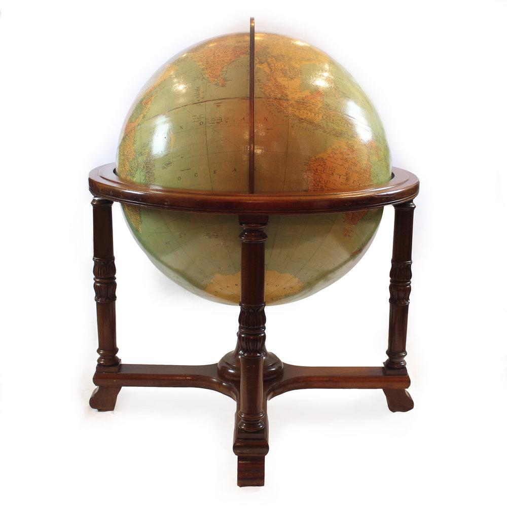 """Repogle 32"""" Library Globe, American, circa 1937"""