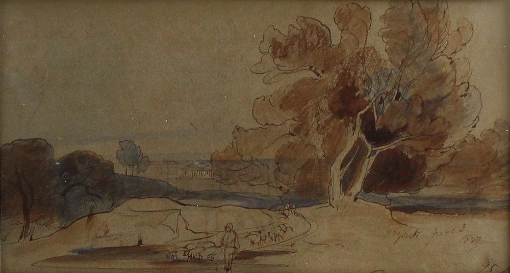 Edward Lear Girgente landscape tree.jpg