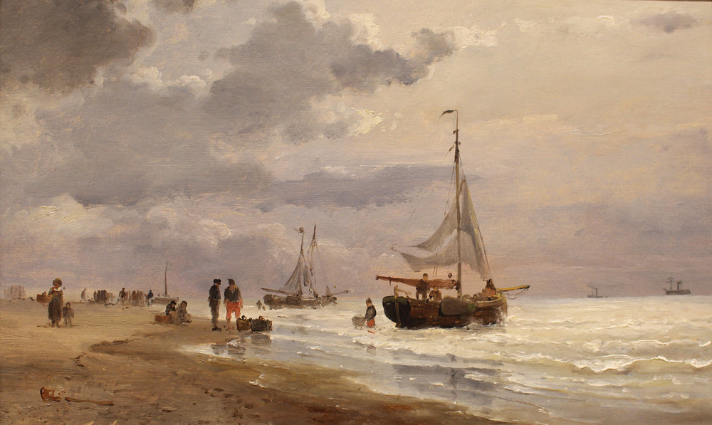 Sorensen The Beacj at Scheveningen.jpg