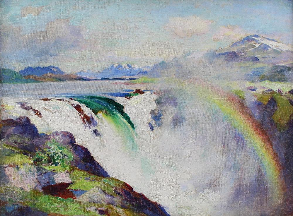 William Blair Bruce The Great Lake Waterfall.jpg