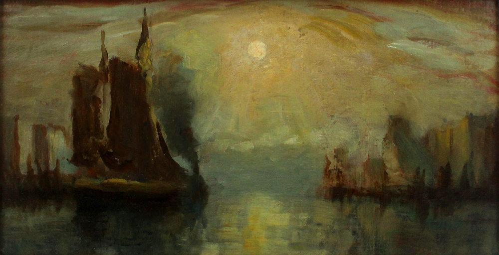 John A. Hammond, Rca, Osa (Canadian 1843-1939) 'Saint John Harbour'