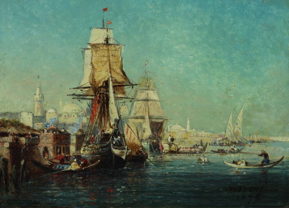 Noel View of Constantinople